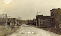 Postcard of 37th Street in Leeds, MO, ca. 1917