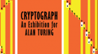 KU professors Steve Goddard and Perry Alexander examine the world of computer pioneer Alan Turing, subject of Cryptograph, an exhibit now on display at KU's Spencer Museum of Art.