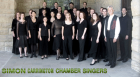 """Choral master Simon Carrington and his singers join 32 elite student vocalists in a """"public rehearsal"""" to perform works by Frank Ticheli, Cesar Carrillo, and Matthew Harris."""