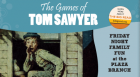Cast members from the Ballet's performance of Tom Sawyer – A Ballet in Three Acts teach children how to play some classic games from the novel.