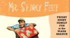 Celebrate the end of the Summer Reading Program with a party starring everyone's favorite rocker, Jim Cosgrove also known as Mr. Stinky Feet.