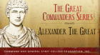 Historian Edward Bowie of the Military History Department at the Command and General Staff College at Fort Leavenworth explains why the military accomplishments of Alexander the Great remain a benchmark against which other military leaders are judged.