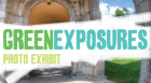 Award-winning photographers are recognized at this event marking the grand opening of the Green Exposures exhibit, a collection of photographs shot in Kansas City's parks.