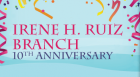 One of the staples of Kansas City's Westside community, the Irene H. Ruiz Branch of the Kansas City Public Library commemorates its 10th anniversary with a musical showcase, refreshments, and a tour of the branch.