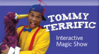 In celebration of Black History Month, Tommy Terrific performs an interactive magic show for children ages 3 – 12.