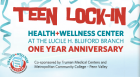 To celebrate the one year anniversary of the Health and Wellness Center, the Lucile H. Bluford Branch of the Kansas City Public Library hosts a weekend of events including a teen lock-in, health screenings, and a basketball clinic.