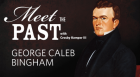 The Kansas City Public Library Director interviews George Caleb Bingham, a great American genre painter—portrayed by re-enactor Robert Gibby Brand—in  celebration of his 200th birthday.