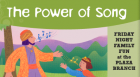 Rita Roth, author of The Power of Song and Other Sephardic Tales leads children in song, stories, & hands-on activities.