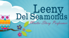 Leeny Del Seamonds, performs a special concert titled Ay Caramba!  The show is suitable for listeners ages 4 and up and encourages audience participation.