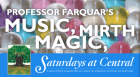 Professor Farquar's 'Great American Medicine Show' is an authentic re-creation of one of the 19th century's most popular  diversions; presenting traditional toe-tapping tunes, magic, lots of laughs, and audience participation.