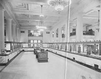First National Bank Interior