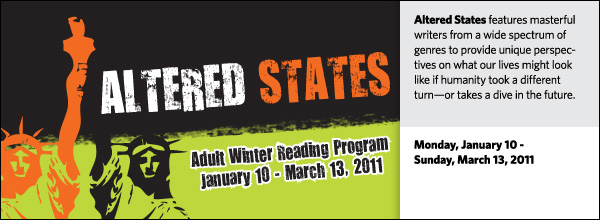 Altered States: Adult Winter Reading Program