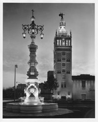 Seville Light Fountain at the Country Club Plaza, 1970