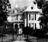 The Summer White House, residence of President Harry S Truman