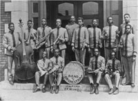 Lincoln High School Cadet Band and Orchestra, 1917