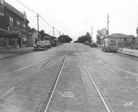 View looking south along Prospect Avenue from 18th Street, 1945.