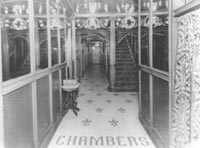 Chambers' mansion interior