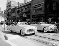 American Royal Parade on Grand, 1954