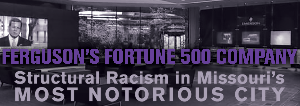 Harvard University professor Walter Johnson examines St. Louis' history of racial capitalism and inequitable public policy – underscored by the low-tax treatment of Fortune 500 company Emerson Electric in Ferguson – in the latest Richard D. McKinzie Lecture.