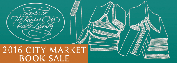 Join us on the first Saturday of the month, from August to October, as the Friends of the Kansas City Public Library present the ninth annual City Market Book Sale.