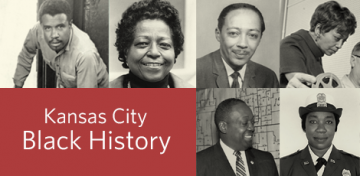 Each year, the Library partners with the Local Investment Commission (LINC) and the Black Archives of Mid-America to produce a series of Black History Month materials celebrating the legacies and accomplishments of notable African-Americans from the Kansas City area. The individuals featured in the 2019 series all helped break down barriers in our community, elevating and inspiring others then and now.