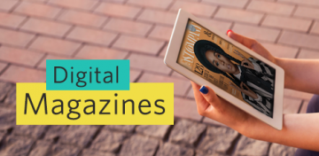 Our virtual magazine rack just got a lot bigger. With OverDrive Magazines, you can now access digital editions of many top titles to read on your computer, phone, or tablet.
