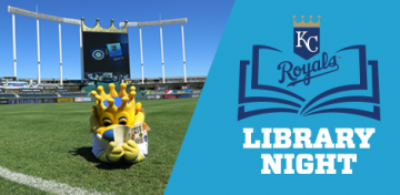 Join the Kansas City Public Library and other area library systems for this year's Library Night at the K on Tuesday, July 24. Purchase discounted tickets at Royals.com/KCLibrary; a portion of sales support KCPL's children's and summer reading programs.