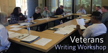 The Veterans Writing Workshop is designed to help veterans, active military, and their family members develop writing and narrative skills that can empower them to tell their stories, whether they are true-life accounts or wholly original tales. Each of the sessions is free and conducted by professional writers and educators; they provide the same high level of instruction as a college or university writing course.