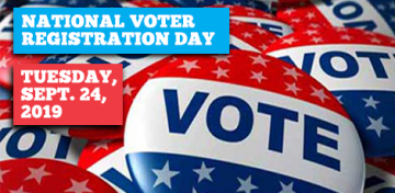 National Voter Registration Day 2019