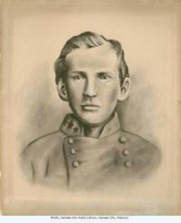 Portrait of Alexander Franklin (Frank) James