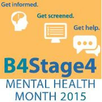 Mental Health Month 2015