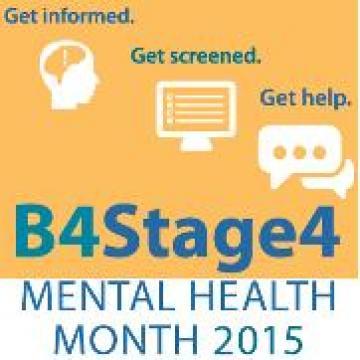 Mental Health Month 2015