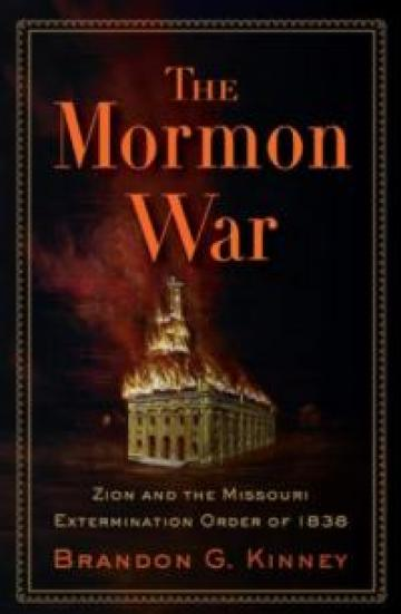 The Mormon War book cover