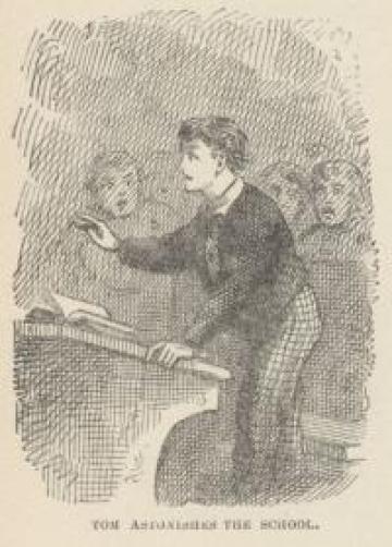 Astonish your school by grabbing a Tom Sawyer e-book.
