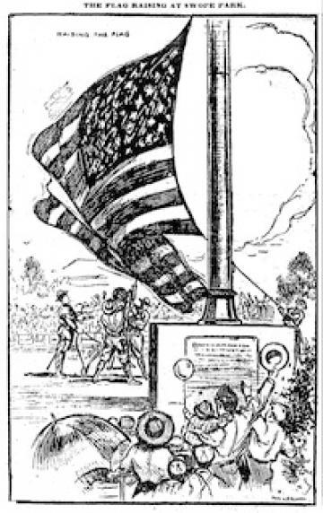 KC Times flag raising