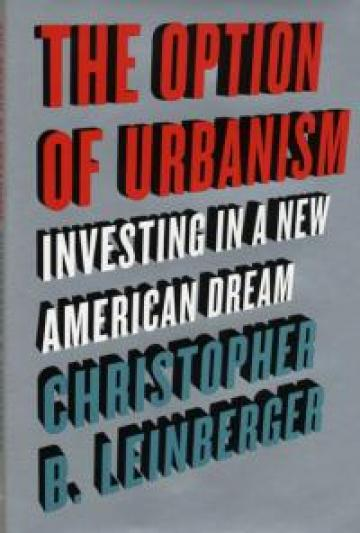 The Option of Urbanism book cover