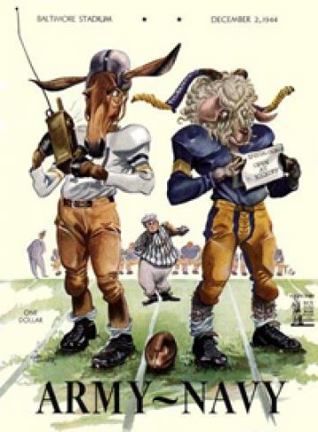 Army Navy 1944 program cover
