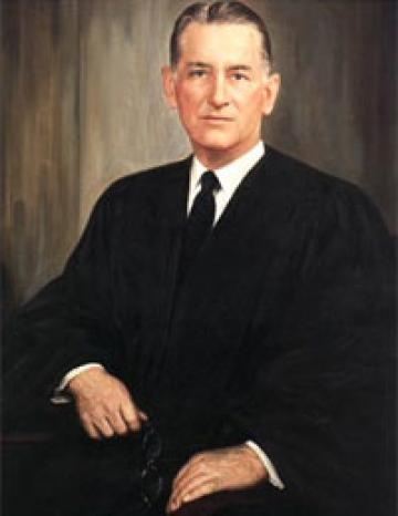 Supreme Court justice Charles Evans Whittaker