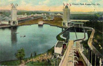 Postcard view of the second Electric  Park