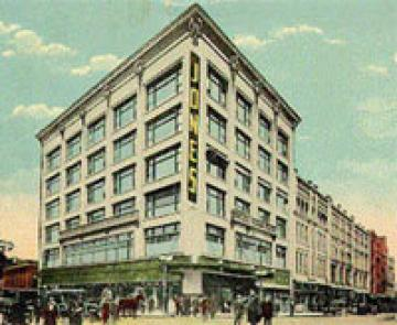 Postcard of the Jones Store Company building