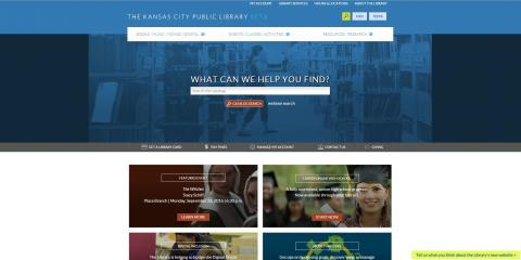 New website kclibrary.org