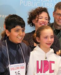 Kush Sharma (at left) and Sophia Hoffman (right)