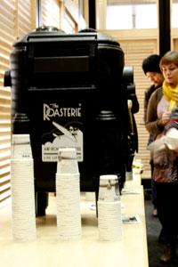 Roasterie Coffee dispenser
