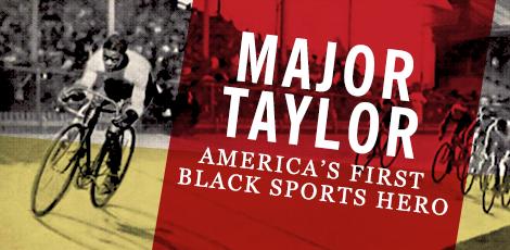 Major Taylor graphic