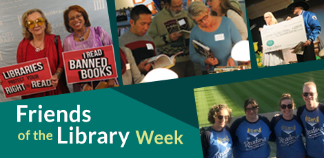 Friends of Libraries Week graphic