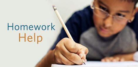 Homework Help graphic