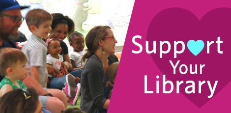 Support your Library graphic