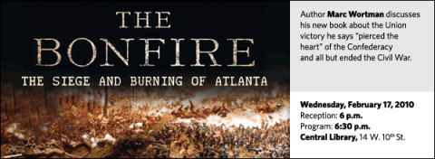 """Author Marc Wortman discusses his new book about the Union victory he says """"pierced the  heart"""" of the Confederacy  and all but ended the Civil War."""