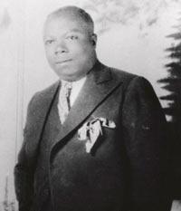 Bennie Moten. Photo courtesy LaBudde Special Collections, UMKC Library