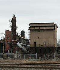 Foundry near Leeds, MO. Photo credit Tom Davidson, Jr.